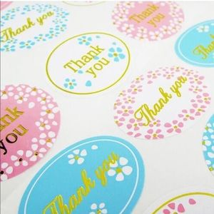 Office - 240 Thank you Stickers